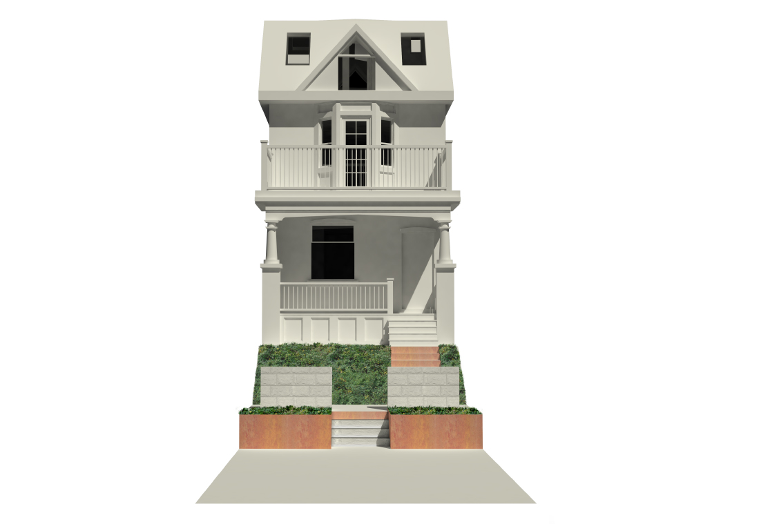 106 Walpole Landscape Front - Robyn Huether Architect