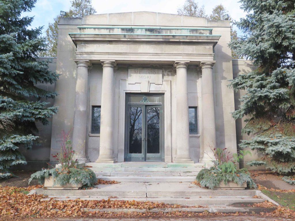 Brantford Mausoleum - Robyn Huether Architect - Heritage consultant