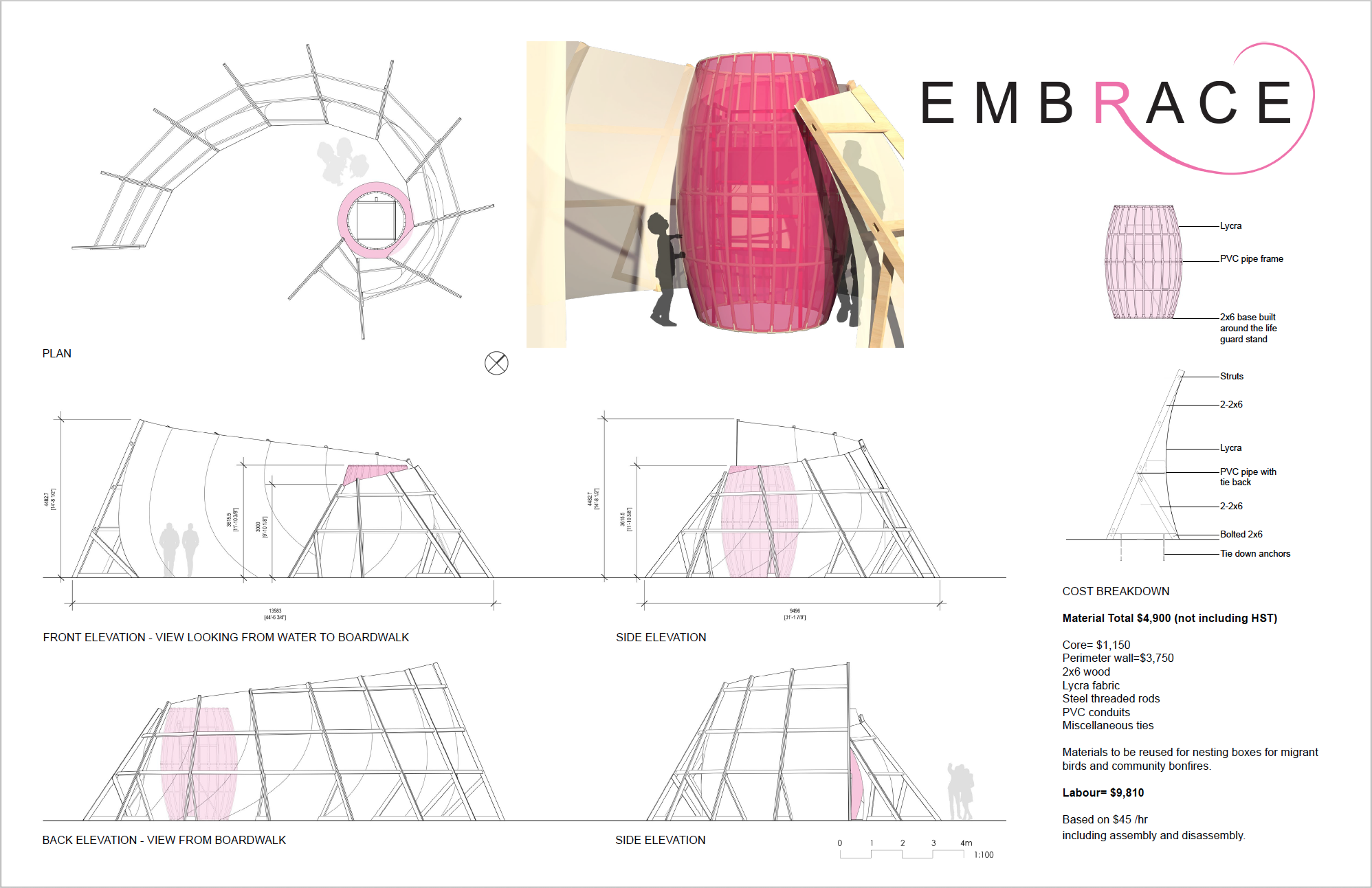 Robyn Huether Architect - embrace project - Embrace Drawing
