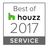 HOUZZ 2017 Best in Service Badge