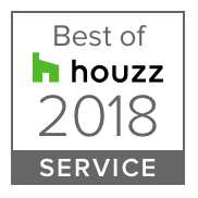 HOUZZ 2018 Best in Service Badge