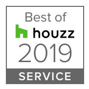 HOUZZ 2019 Best in Service Badge