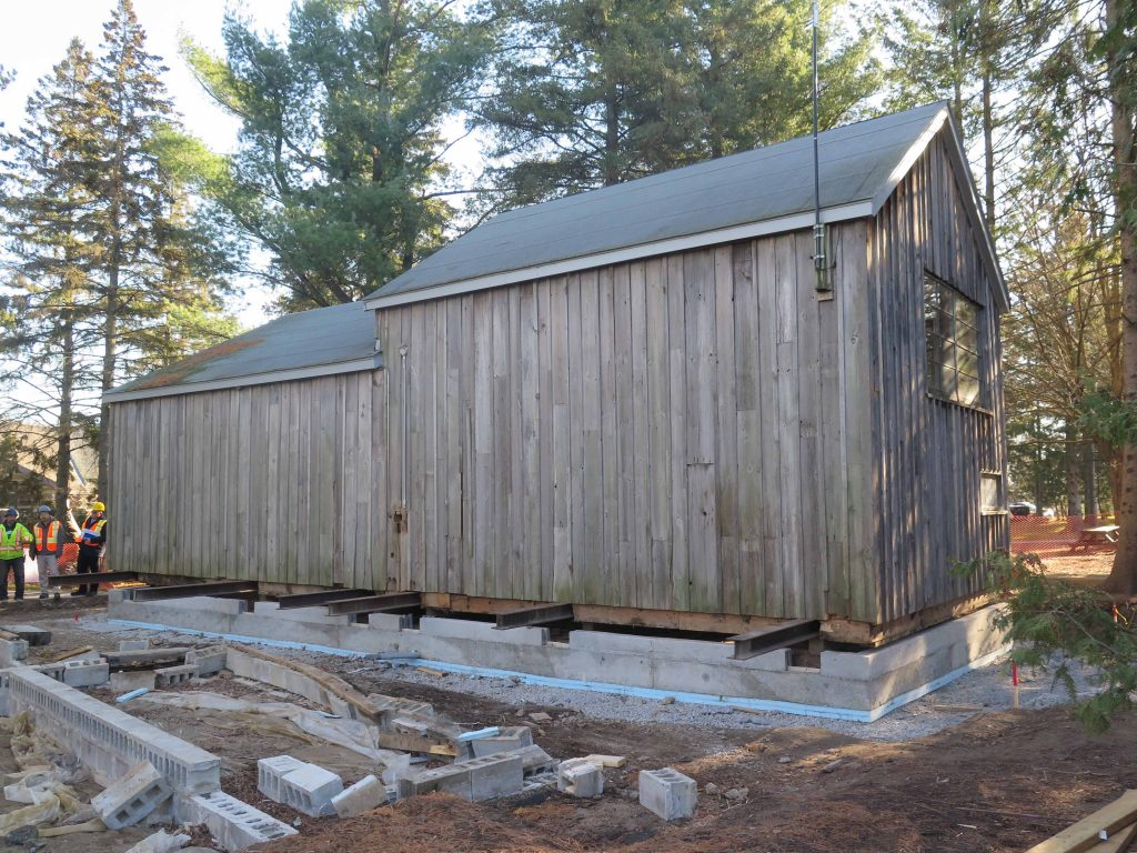 Tom Thompson Shack, McMichael Gallery​ - work in progress - robyn huether architect