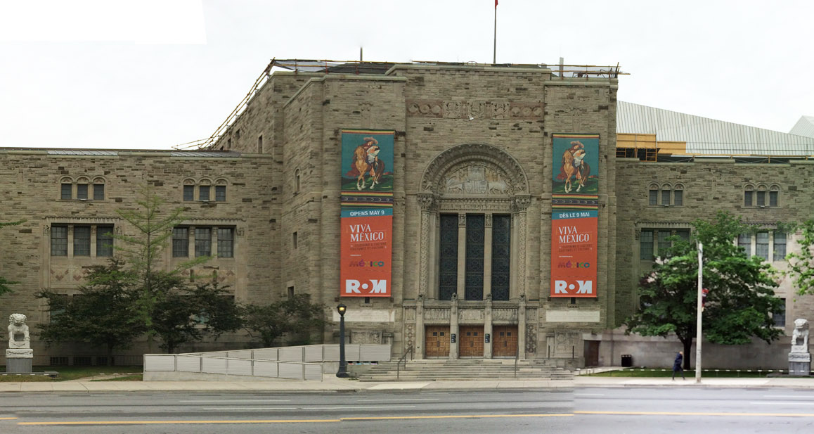 Royal Ontario Museum ROM - east elevation - Robyn Huether Architect - Heritage consultant