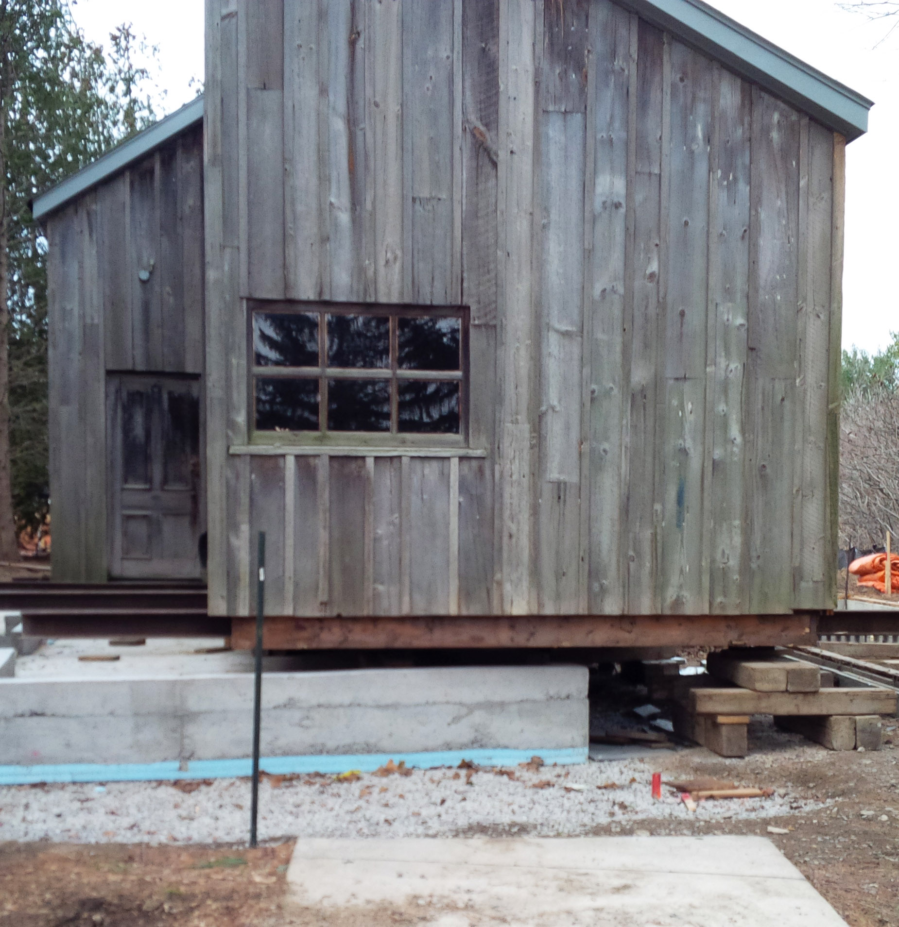 Tom Thompson Shack, McMichael Gallery​ - before